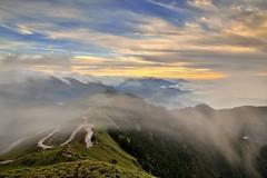 ~~ Clouds Sunset (Shang-fu Dai) Tags:  taiwan   3416m 3417m  seaclouds sunset mthehuan nikon d800e afs24120mmf4  landscape formosa