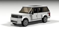 Range Rover SVAutobiography - LDD Render (wooootles) Tags: lego moc legomoc suv legosuv rangerover landrover svautobiography ultraluxury ldd
