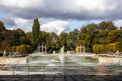 Water play (EyeOfTheLika) Tags: ifttt 500px water tree travel park nature sky fall outdoors lake landscape fountain no person summer reflection beautiful grass wood lika london battersea