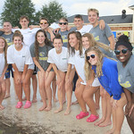 LHS-RBHS Swim, Combined Senior Recognition, 9-28-2016
