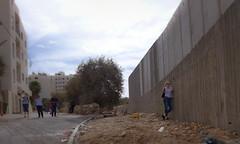 Mauer am Rand von Beit Jala (Ulrike Parnow) Tags: mauer palästina