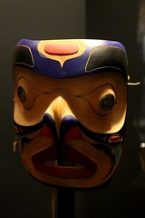 Tlingit Mask (demeeschter) Tags: canada yukon territory teslin lake town heritage center native american tlingit historical museum art attraction