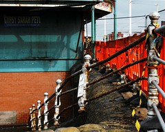 Gypsy Sarah Petu......, North Pier, Blackpool, 2013 (Rhisiart Hincks) Tags: blackpool sirgaerhirfryn fyldecoast lancashire lloegr powsows england sasana brosaoz ingalaterra angleterre inghilterra anglaterra  angletrra sasainn  anglie ngilandi fylde holidayresort cyrchfangwyliau aod kostalde coast cte arfordir seaside dirywiad dirywio dadfeilio decay warziskar beheraldi abandoned gadawedig dilezet utzita utzitasun abandonment rhwd mergl rust herdoil meirg rouille europe eu ewrop ue