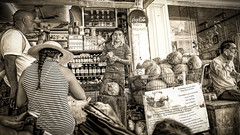 Coconuts! (http://sotochristian2.500px.com/) Tags: mexico wclx100 art blackandwhite fujifilmx100t monochrome outdoor people phography sepia street
