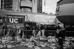 Student demo London November 19th 2016 (ianmac3) Tags: nov19 5dmk2 nus ucu unitedforeducation canon demo demonstration eos manifest manifestation nationalunionofstudents protest student union universityandcollegeunion