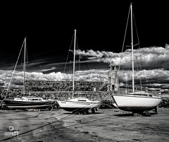 Port Logan (Impact Imagz) Tags: portlogan boats yachts port harbour innerharbour galloway mullofgalloway beach l pier lighthouse sand seascape shoreline coastline scotland visitscotland scottishborders rhinsofgalloway portloganlighthouse causeway