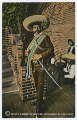 Zapata, Leader of Mexican Revolution of the South (SMU Central University Libraries) Tags: zapataemiliano hotelmoctezuma cuernavacamexico revolution militia stairs