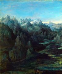 Mountain Range (lluisribesmateu1969) Tags: 16thcentury landscape altdorfer tokyofujiartmuseum tokyo