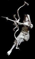 ORIGAMI - LORD RAMA ! (Neelesh K) Tags: origami lord rama ramayana india hindu mythology bow arrow god diwali festival