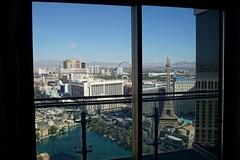 view from the 51st floor (shinnygogo) Tags: 2016 cosmo daylight nevada roomwithaview hotel 51st vegas cityscape hotels casino sincity travel destination balcon suiteroom