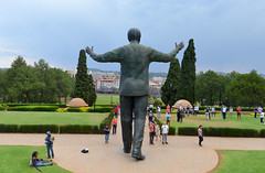 Hero (Francisco Anzola) Tags: southafrica gauteng pretoria city park mandela madiba nelsonmandela statue