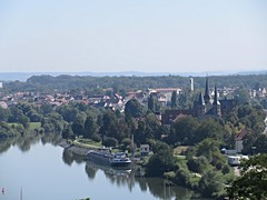 Wimpfen im Tal and Neckar River, Bad Wimpfen, Germany (Paul McClure DC) Tags: badwimpfen germany badenwrttemberg aug2016 deutschland historic architecture neckar river scenery church