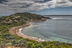 The Road To Point Nepean (gecko47) Tags: landscape pointnepeannationalpark pointnepean fortnepean isthmus morningtonpeninsula portphillip fortifications military defence theheads thenarrows beach bay bassstrait victoria hdr