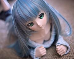 ねそべり (mauserM712) Tags: 初音ミク ドール hatsunemiku doll nikon d810 nikkor 2470mm f28 オフショルワンピ vr