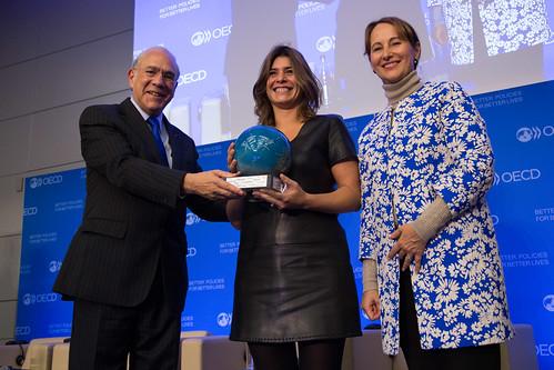Première cérémonie de remise du prix international du meilleur reporting climatique investisseurs