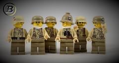 *NEW* Afrikakorps torsos (Joe Brick) Tags: lego custom wwii ww2 wehrmacht afrika panzer