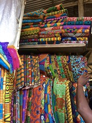 Makola Market (Rachel Strohm) Tags: ghana africa accra market makola makolamarket waxprint pagne kitenge fabric textiles