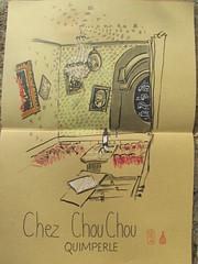 Chez ChouChou  Quimperl (thibaultpascal) Tags: quimperl de urban sketcher chouchou