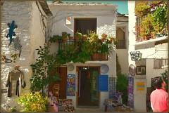 # Ένα μπαλκόνι ☼ Un balcón # (jose luis naussa ( + 2 millones . )) Tags: pampaneira granada alpujarras albusharat flores λουλούδια saariysqualitypictures