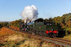 Light Engine to Kidderminster 3 (D1059) Tags: 4566 7812 smallprarie manor greatwesternrailway gwr britishrailways 262t 460 erlestokemanor severnvalleyrailway svr foleypark kidderminster