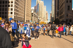 Chicago Cubs World Series Champions 2016 Parade (niXerKG) Tags: nikon fx dslr nikkor cubs chicagocubs parade chicagocubsparade2016 world series champs flythew w df nikondf 16mp 35mm f14g