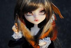 .: Morwën :. (.: Miho :.) Tags: pullip jun planning groove doll dolls obitsu l 27cm parabox makeup make up fc fullcusto vampire feathers suigintou outfit rozen maiden 2007