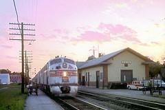 CB&Q E9 9993 (Chuck Zeiler) Tags: cbq e9 9993 burlington railroad emd locomotive galva zephyr train chz chuck zeiler