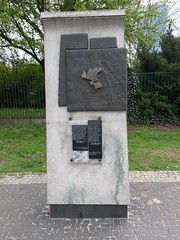 Warsaw Ghetto wall marker (Joe-2016) Tags: warsaw ghetto wall marker poland ww2 1940s nazis holocaust shoa 1939