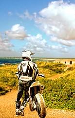 Motocross rider. (driver Photographer) Tags:   aprilia cagiva honda kawasaki husqvarna ktm simson suzuki yamaha ducati daytona buell motoguzzi triumph bmv driver motorcycle leathers dainese