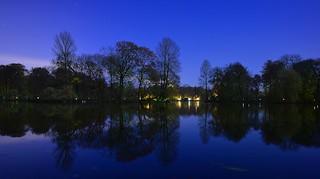 Munich - Moonlight (not blue hour)
