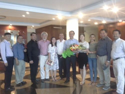 """VIỆN ĐÓN  Đoàn công tác của Giám đốc Đại học Nakhon Phanom đến thăm và ký văn bản hợp tác • <a style=""""font-size:0.8em;"""" href=""""http://www.flickr.com/photos/145755462@N06/30945407105/"""" target=""""_blank"""">View on Flickr</a>"""