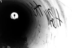 MASH (Nikon F801) (stefankamert) Tags: stefankamert mash tunnel bw baw sw noir noiretblanc blackandwhite blackwhite black blurred blur analog film nikon f801 nikonf801 n8008 voigtländer ultron slr ilford hp5 street grain dof bokeh