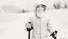 Brave (katrienberckmoes) Tags: brave girl there many paths onto top mountain alps rauris austria blackandwhite