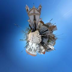 Portugal - Faro Little Planet (mho.online) Tags: portugal westküste faro stadt town place platz city eos 600d sigma 18200 sonne sun wolken clouds meer sea blue blau sauber clean clear klar himmel sky little planet