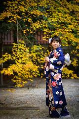 45 (motonari1611) Tags:        kimono japan autumn nikon potrait