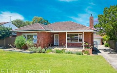 5 Ula Crescent, Baulkham Hills NSW