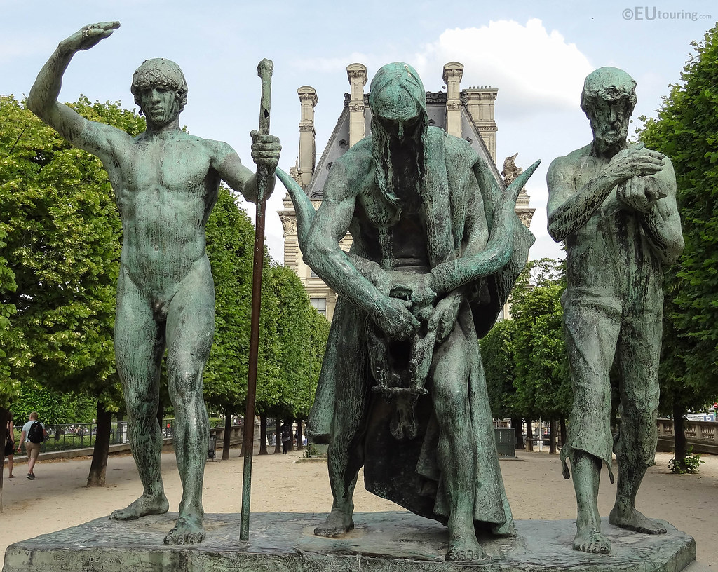 The world39s newest photos of statue and tuileries flickr for Sculpture moderne pour jardin