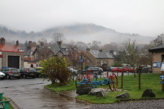 2016 - 13.11.16 Aberfoyle (6) (marie137) Tags: aberfoyle marie137 scotland mist mountain hill town water country