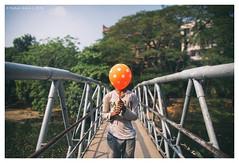 ".... (Rahat ""ArchQuad"" Amin) Tags: lifestyle documentary street portrait orange man bridge life people archquad dhaka bangladesh nikon d610 wide"