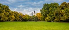 Leipziger Johannapark im Herbst (wirklich_rainer_zufall) Tags: leipzig herbst johannapark neues rathaus uniriese