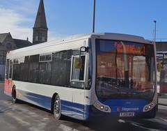 King's Lynn (Andrew Stopford) Tags: yj59nnz optare tempo stagecoach kingslynn dunnline first norfolkgreen