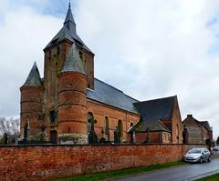 Autreppes - Saint-Hilaire (Martin M. Miles) Tags: autreppes sainthilaire fortifiedchurch eglisefortifie wehrkirche thirache hautsdefrance aisne 02 france