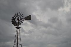 The windmill on a cloudy day (radargeek) Tags: homesteadheritage waco tx texas windmill