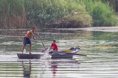 Fishing (Hector16) Tags: النيل dahabiyadream egyptology nile sailing northafrica boat dahabiya egypt