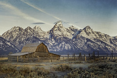 Happy Thanksgiving! (pixelmama) Tags: grandtetonnationalpark mormonrow moultonbarn october2016 wyoming pixelmama explore