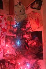 Kayla's tree photo of the day 12/2/2016 (Patches Madison) Tags: christmas minimal tree purple pink spiderman hello kitty season seasonal holiday