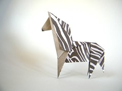 Zebra - Kyu-seok Oh (aka Jassu) (Rui.Roda) Tags: origami papiroflexia papierfalten zebra kyuseok oh jassu