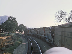 More of Roger's Cab Ride in ATSF 306L Up to the Loop -- 5 Photgos (railfan 44) Tags: southernpacific