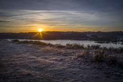 Hald s in the sunrise (MGMOLLER) Tags: mgmoller mgmollerdk pentax sunrise sunburst sunstar water landscape lake