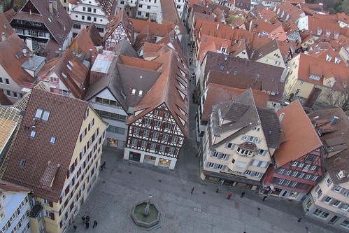 View from Collegiate Church over Holzmarkt, 08.04.2012.